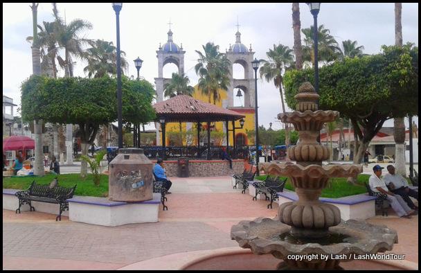 San Blas town - main plaza
