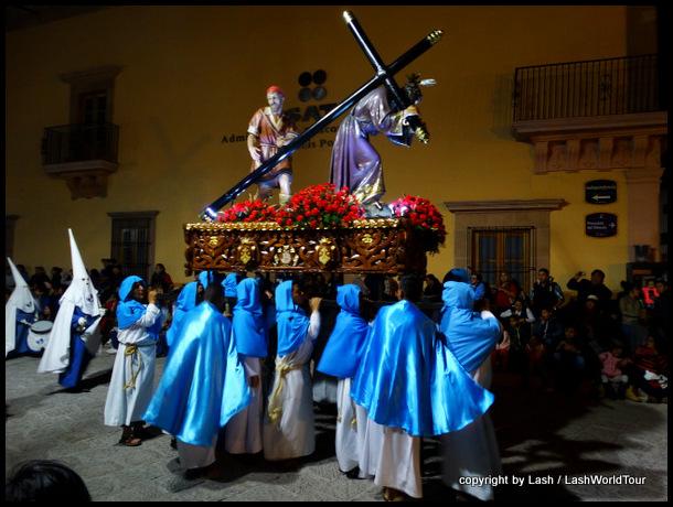 Silent Procession on Good Friday - San Luis Potosi