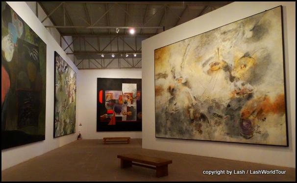 modern art in Manuel Felguerez Museum - Zacatecas