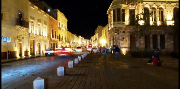Zacatecas at night
