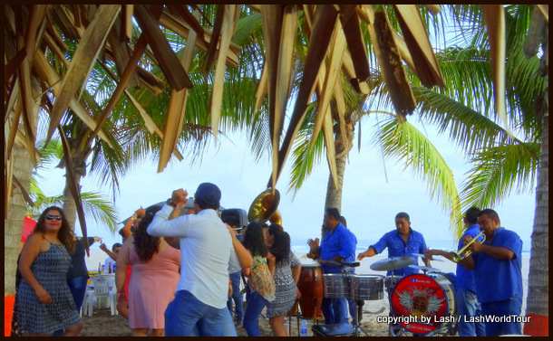 Mexican party on San Blas beach - weekend