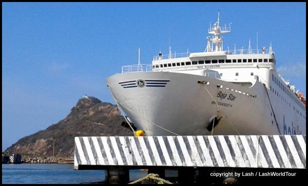 ship at Manzanillo