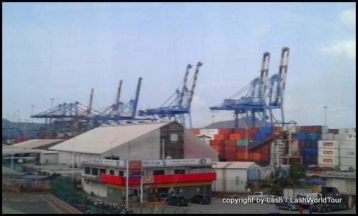 cargo cranes at Manzanillo
