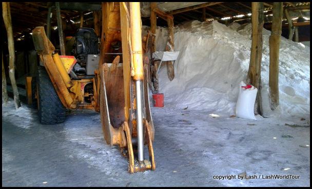 salt warehouse in Cuyutlan