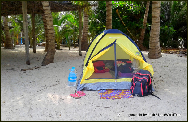 camping at Maruata Beach
