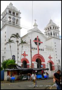 church in Juayua - El Salvador