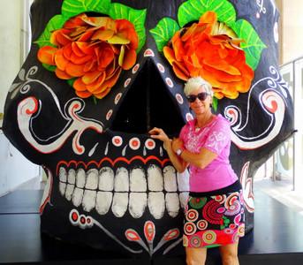 Lash at Museo de los Muertos - Aguascalientes