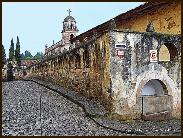 Historic church in Patzcuaro
