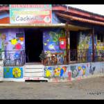 colorful murals in Ataco - Ruta de Flores - El Salvador