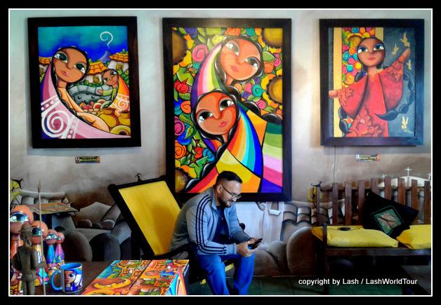 Art gallery -- Ataco - El Salvador
