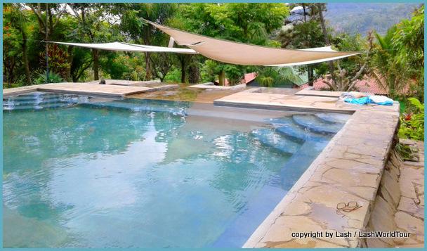 hot springs near Ahuachapan - Ruta de Flores - El Salvador