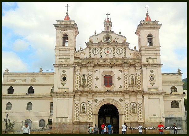 church in Tegucigalpas - Honduras