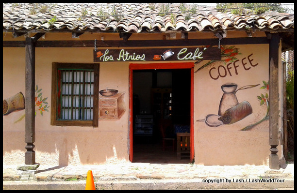 cute cafe in Valle de Angeles