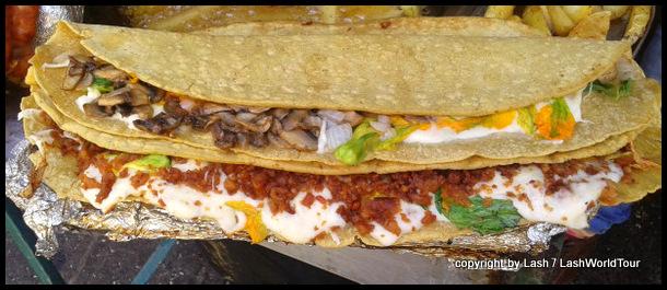 Mexican food in Puebla