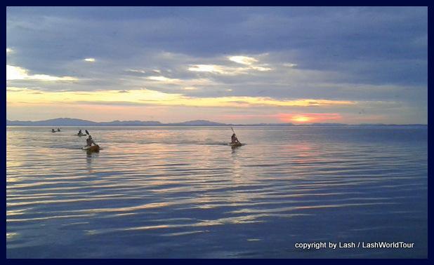 kayaking on Lake Nicaragua at Ometepe Island