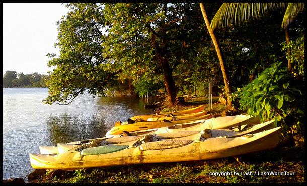 kayaks for rent at Ometepe