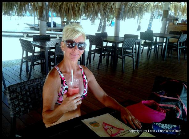 dining at Corn Islands