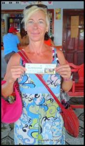 boat ticket between Corn Islands
