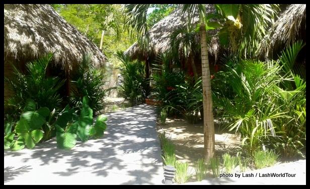 small boutique resort at Playa Samara