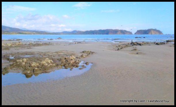Playa Samara - view of bay from north end